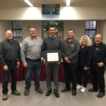 Photo: SBHS superintendent honored by state association