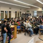 Photo: SBHS families attend Gavilan president's talk on college