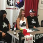 Video: King signs as first college field hockey player from SBHS
