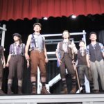 Video: SBHS students perform 'Newsies' song