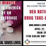 Locals can drop off unused, expired meds on Drug Take-Back Day