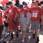 Video Clip: Groups start the strutting at Walk a Mile in Her Shoes