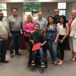 Student receives award as 'model for inclusionary classrooms'