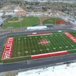 Video: Latest drone view of SBHS stadium, aquatics center projects