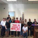 SBHS thanks VFW for Carnival at Vet's Park