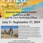 Anza Expedition exhibit on display at Luck Library until Sept. 17