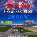 Hollister set to host fly-in, fireworks on July 4