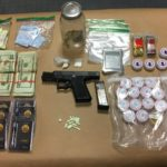 Traffic stop leads to allegation of juvenile with gun, drugs
