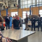 Video: SBHS hosts tour of Career Technical Education facilities