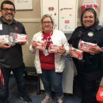 SBHS, feeder schools receive first-aid kits for wounds