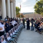 Video: Veterans honored before banners hung in Hollister