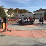 New student pathway connects areas of high school campus