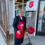 Photo: Salvation Army collecting at Windmill through Christmas