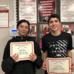 SBHS names latest Baler STRONG recipients, holds lunch event