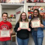 Baler Students of the Week awarded from P.E., English departments