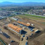 Two buildings erected for new Rancho Santana School