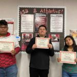 SBHS Students of the Week named by AVID, math, science departments