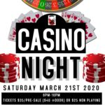 Updated: Casino Night postponed due to coronavirus