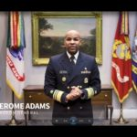 Video: Surgeon general shows how to make face covering