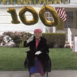 Video: Family celebrates Hollister woman's 100th birthday with vehicle parade