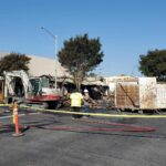 Arson suspected in fires that destroyed downtown buildings